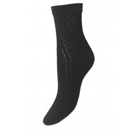 Socken - Twine Merlina, Black  - Beck Sondergaard