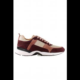 Sneaker - Bordo/Rose/Gold, Black - Billi Bi