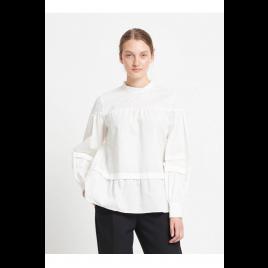Bluse - Rosie Malli, white - Bruuns Bazaar