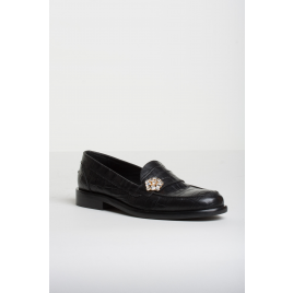 Moccasin - Patty, Crocco Black  - Bukela