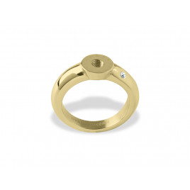 RING - SHINY GOLD CRYSTAL - DYRBERG/KERN