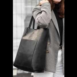Tasche - Antonella Shopper, Antique/Black - Markberg