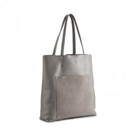 Tasche - Antonella Shopper, Suede Mix/Stone Grey - Markberg