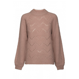 Pullover - Damika Knit, Pale Rose - Minus
