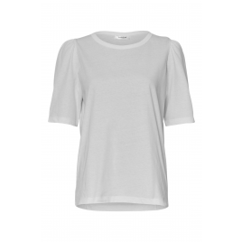 Shirt - Mo Alva Puff, White - Moss Copenhagen