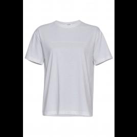 Shirt - Liv Organic, White/White - Moss Copenhagen