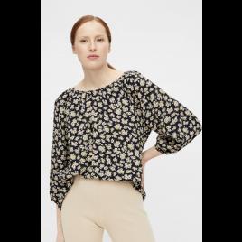 Bluse - Objanmira Top, Aop Flowers - Object