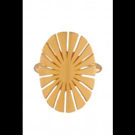Ring - Flare, Gold - Pernille Corydon
