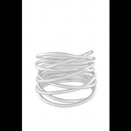 Ring - Paris, Silver - Pernille Corydon