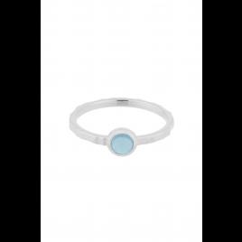 Ring - Shine Blue, Topaz/Silver - Pernille Corydon