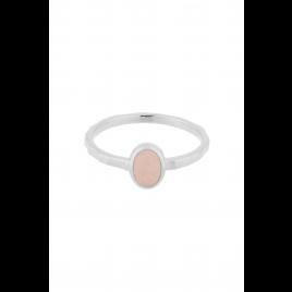 Ring - Shine Rose, Quarz/Silver - Pernille Corydon