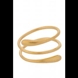 Ring - Waterdrop, Gold - Pernille Corydon