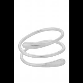 Ring - Waterdrop, Silver - Pernille Corydon