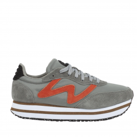 Sneaker - Olivia Plateau II, Autum Grey - Woden