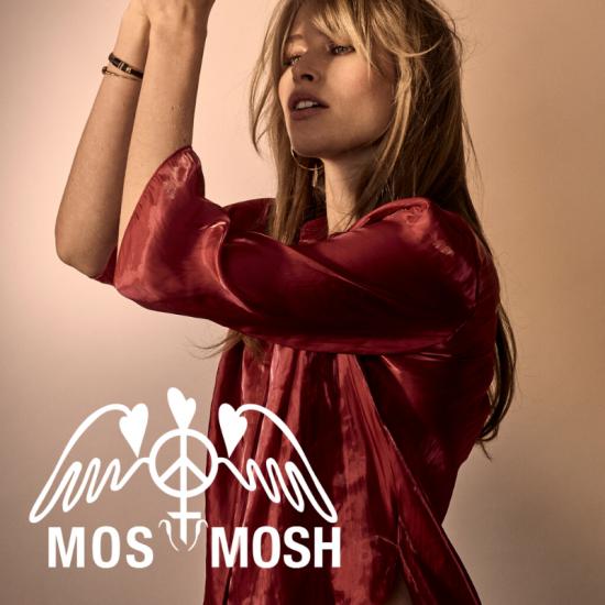 Mos Mosh Bluse rot1